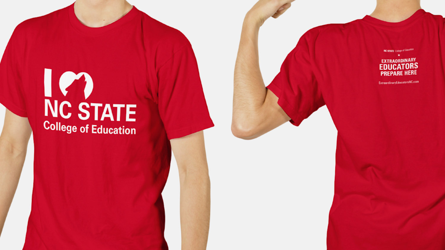 NC State College of Education T-shirt