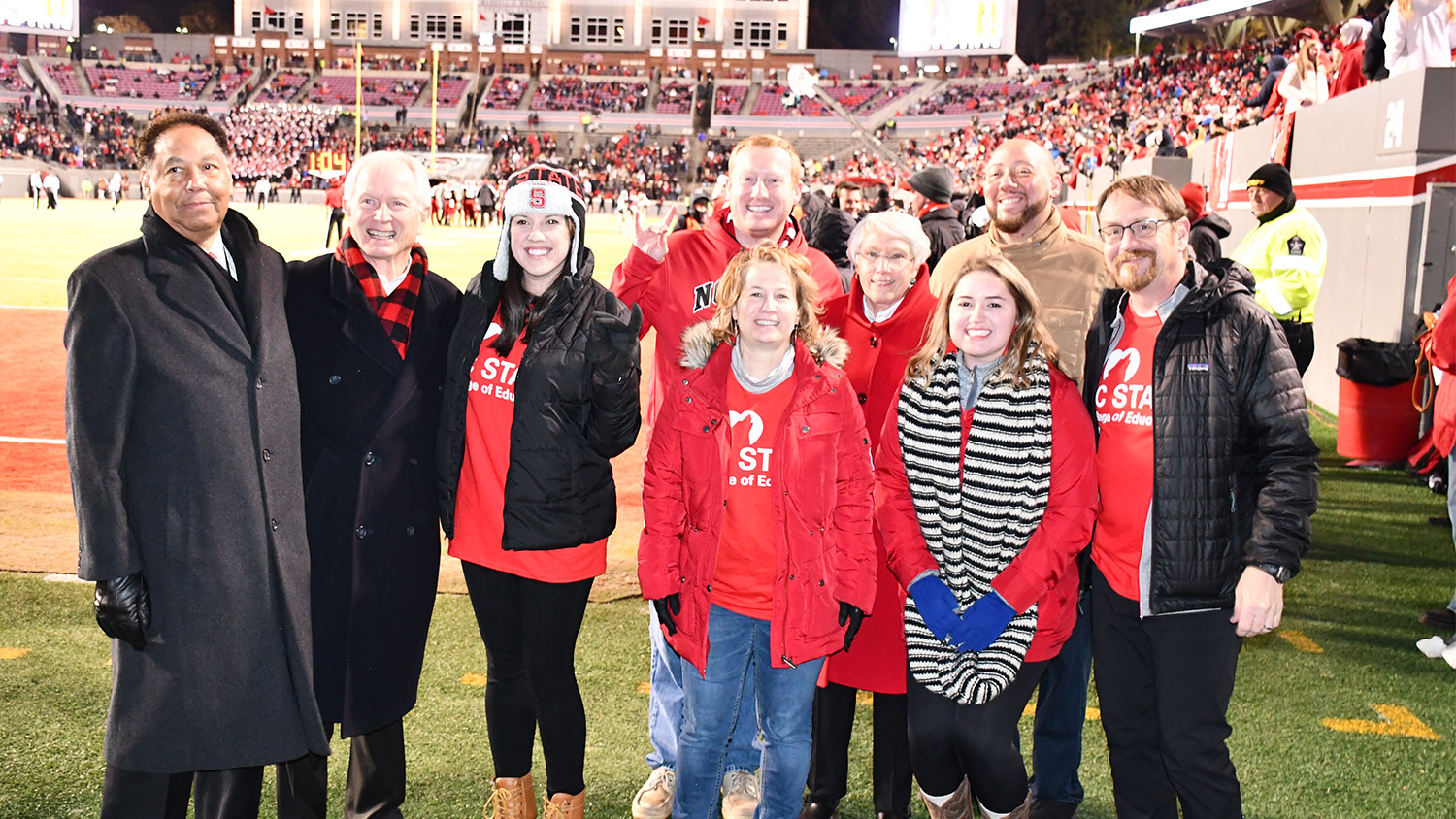 Alumni recognized during Educator Appreciation Day