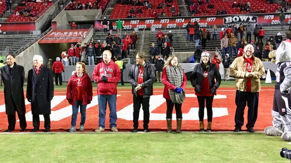 Alumni recognized during NC State's Educator Appreciation Day