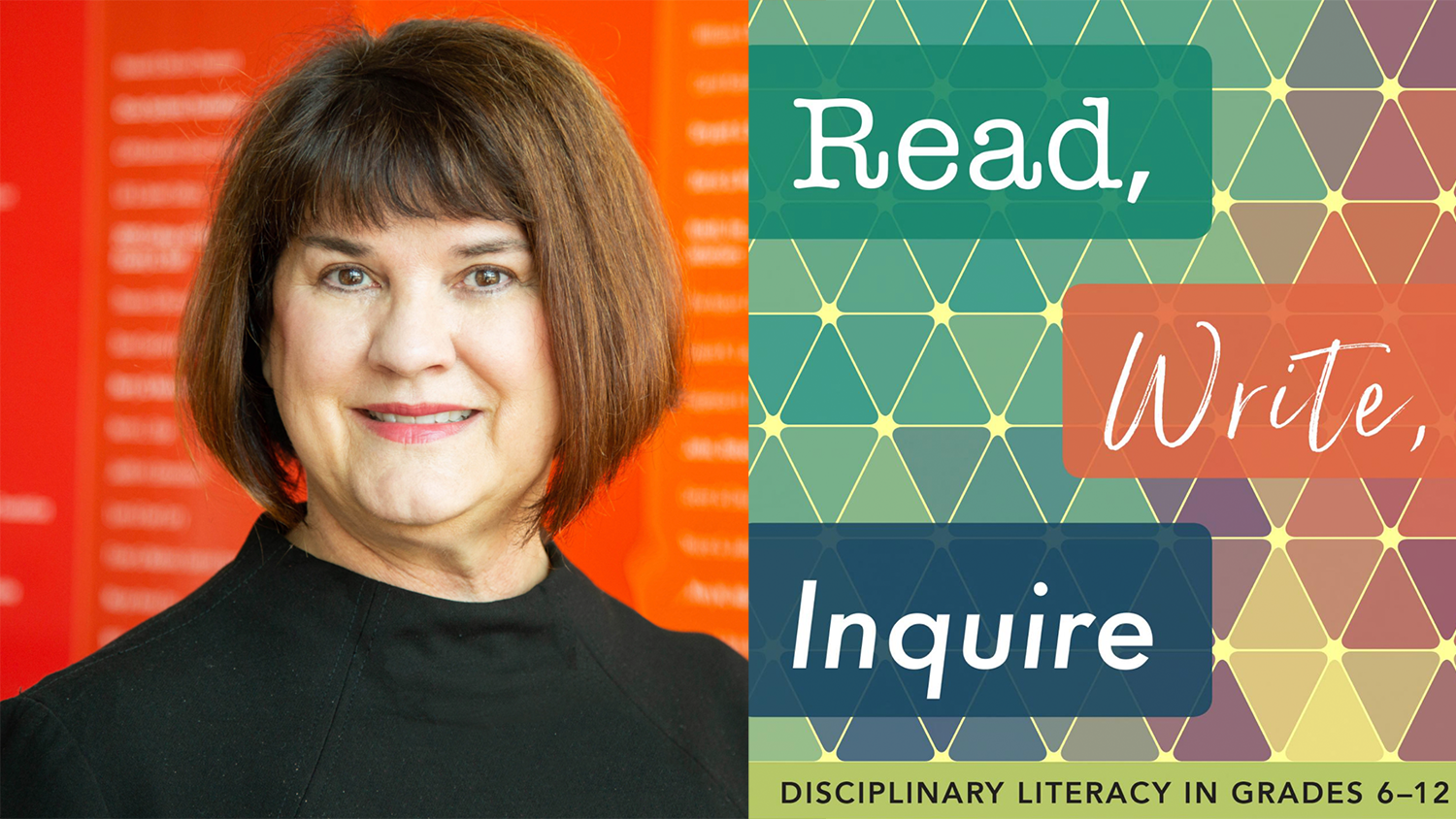 Alumni Distinguished Graduate Professor Hiller Spires, Ph.D. published a new book called Read, Write, Inquire
