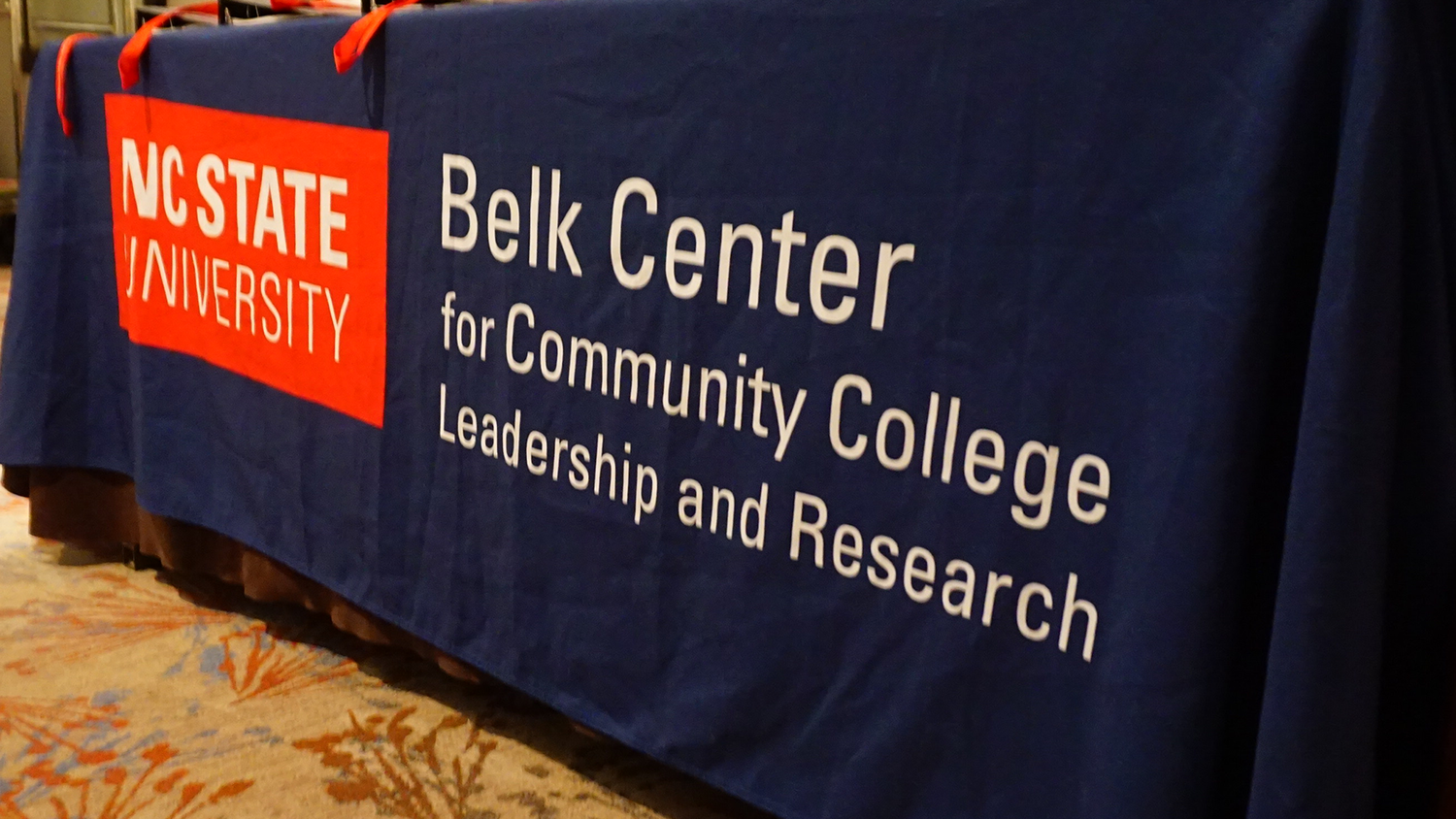 Belk Center for Community College Leadership and Research wordmark