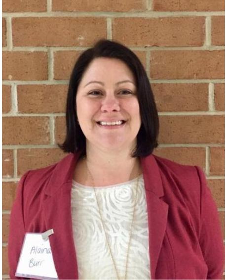 Durham County Principal Fellow Alaina Burr
