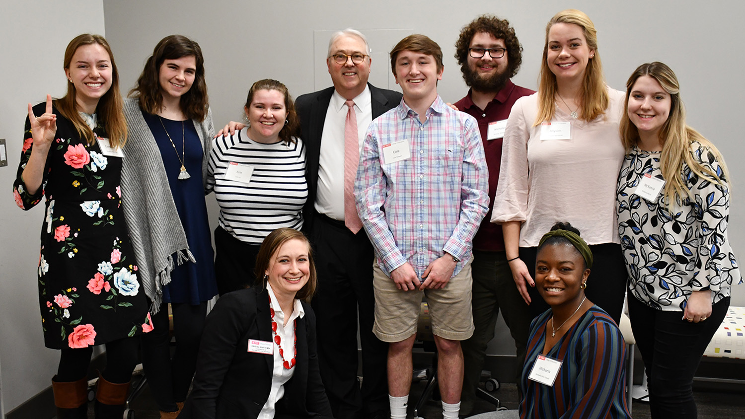 Teaching Fellows with Chancellor Woodson