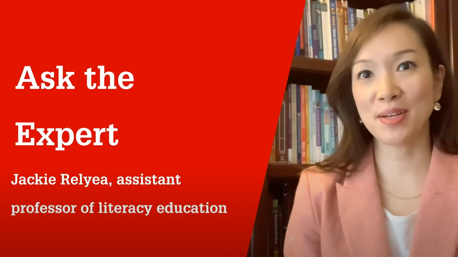 NC State College of Education Assistant Professor Jackie Relyea