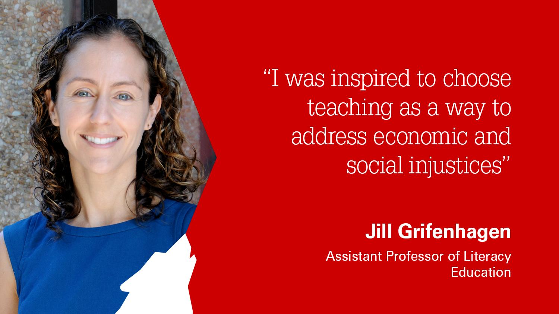 NC State College of Education Assistant Professor Jill. Grifenhagen, Ph.D.