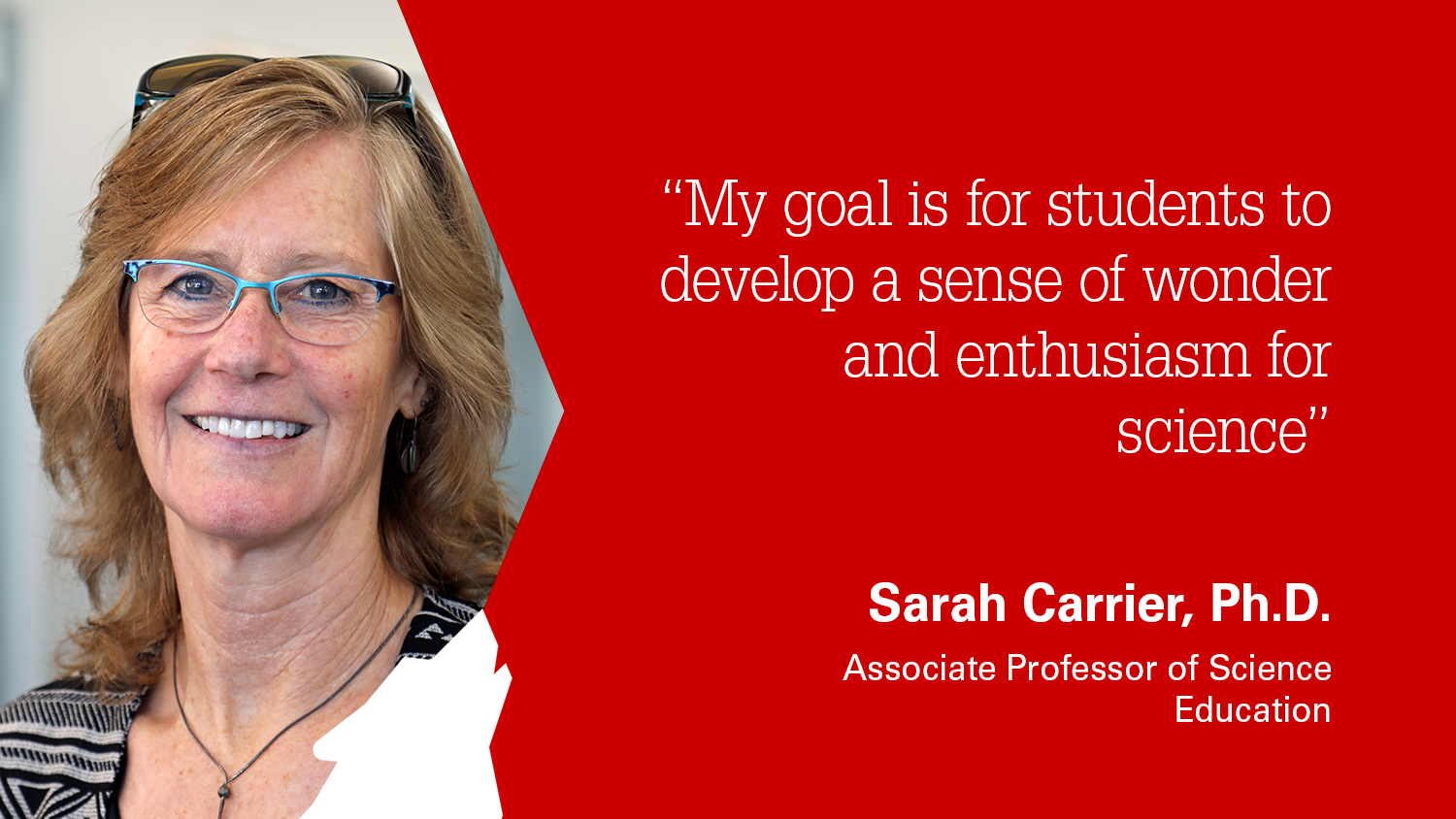 NC State College of Education Associate Professor Sarah Carrier Ph.D.