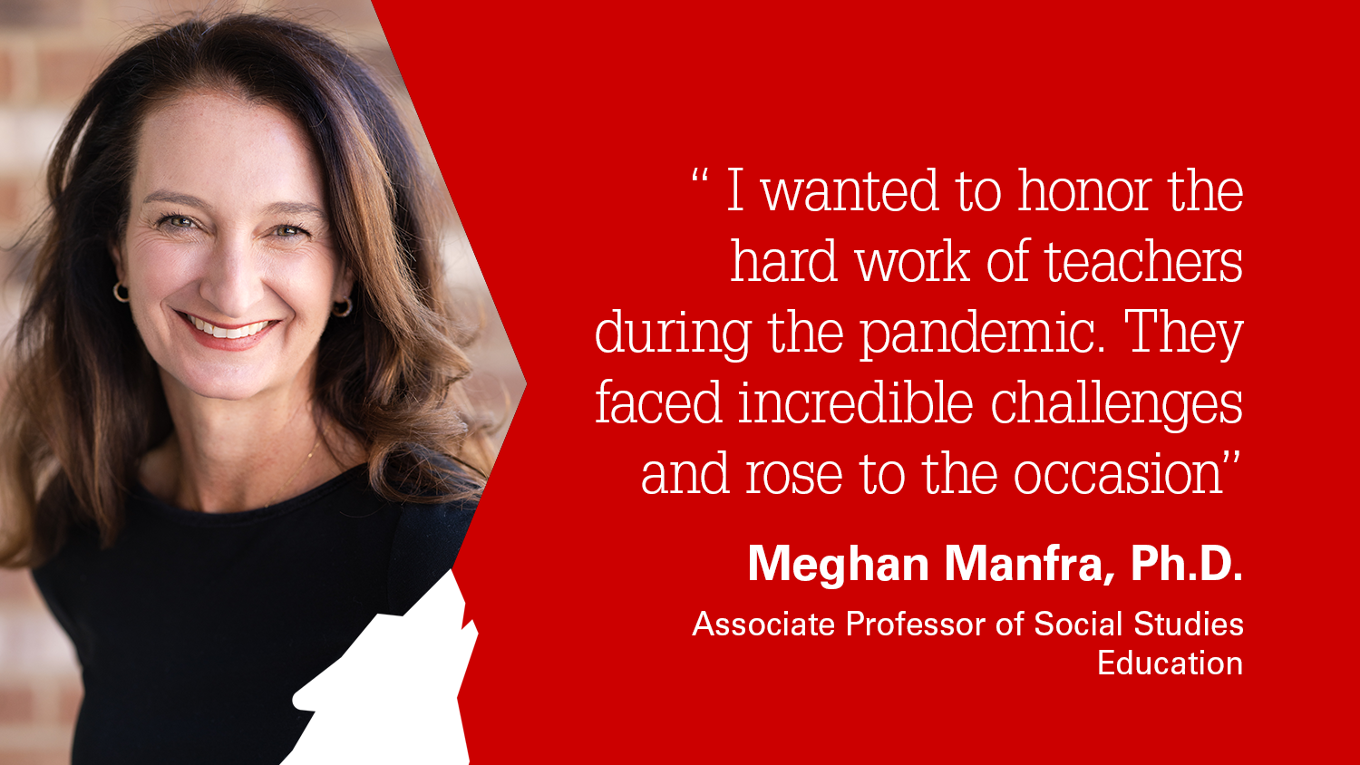 NC State College of Education Associate Professor Meghan Manfra, Ph.D.