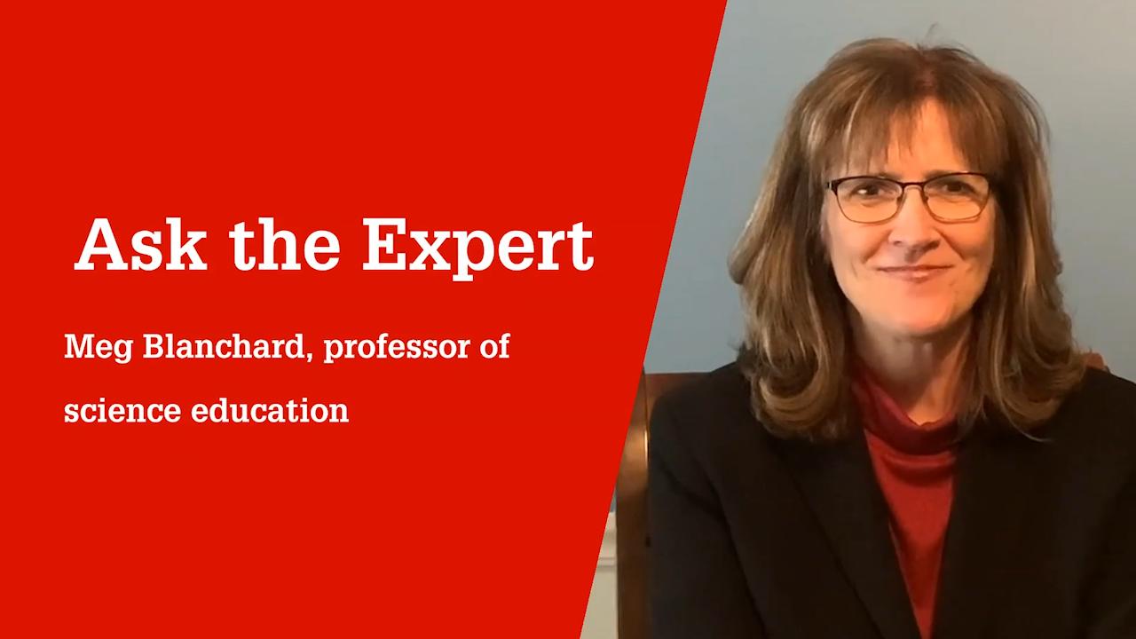 NC State College of Education Professor Meg Blanchard, Ph.D.