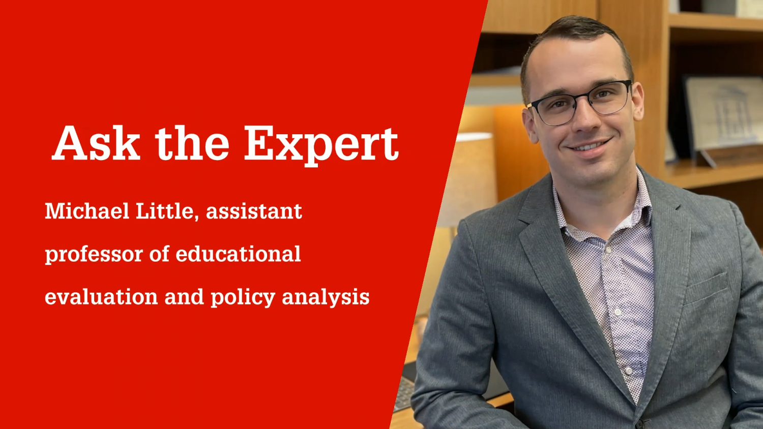 NC State College of Education Assistant Professor Michael Little, Ph.D.