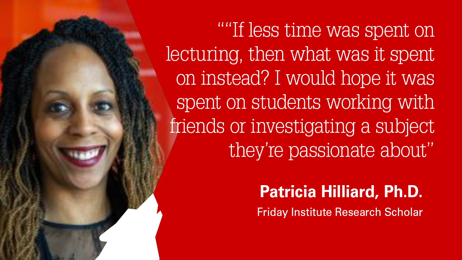 Friday Institute for Educational Innovation Research Scholar Patricia Hilliard, Ph.D.
